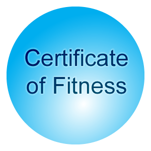 Garmin Software: Certificate Of Fitness